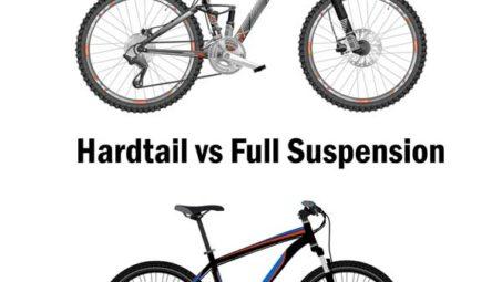 Hardtail vs Full Suspension