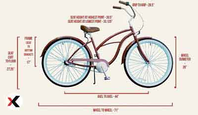 What-Is-the-Average-Size-Bike-for-a-Woman